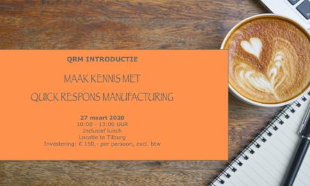 Qrm Introductie Aankondiging 27 Maart 2020